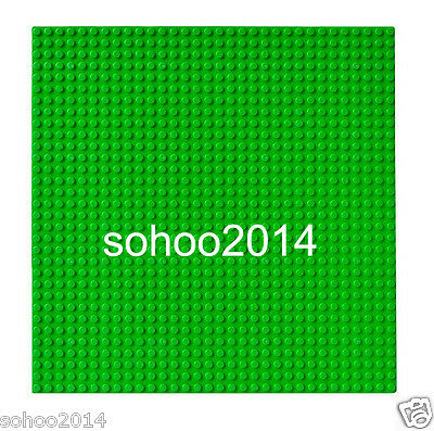 2pc Compatible for Lego Green BasePlate display Brick figure building 32x32 Dot