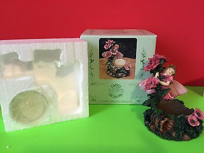 Fairy Blossoms Votive Candle Holder, NIB