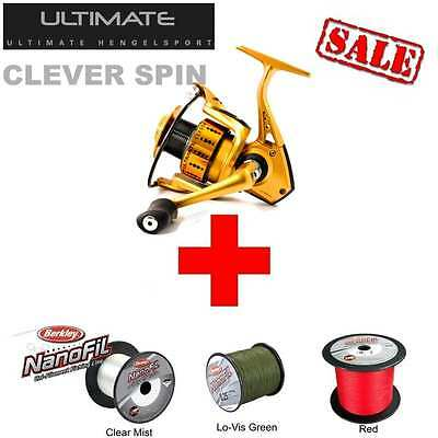 ULTIMATE CLEVER SPIN 1000 + 100m 0,12mm Nanofil Clear Mist