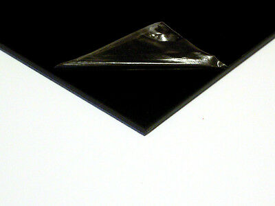 2mm ABS Black Smooth Sheet [Multiple Sizes] VAT Invoice Supplied