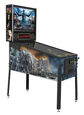 Stern Game of Thrones Premium Pinball Machine