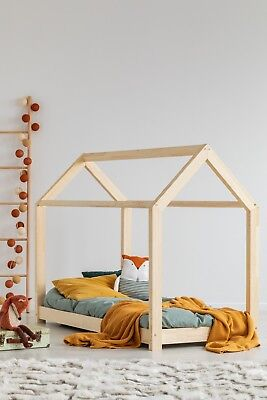 Children bed House Without Mattress 13 dimensions Kids Bed