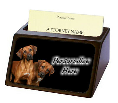 Rhodesian Ridgeback   Pet Breed  Personalized Business Card Holder