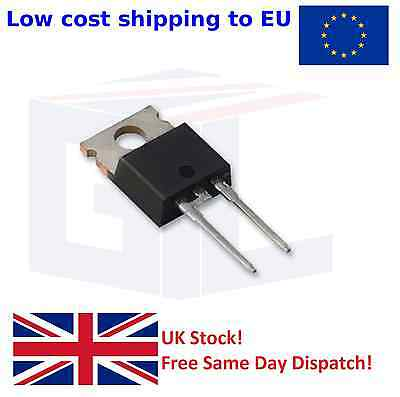 Fast Recovery Diode - Genuine NXP - BYW29EX-200, 8A, 200V, 2-Pin TO-220