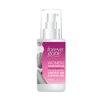 Forever Gone Womens Ingrown Hair Treatment Oil For Underarm & Bikini Area