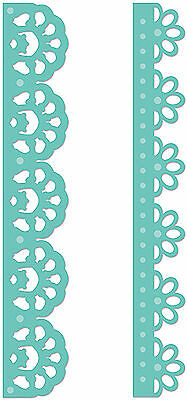 Lacey Borders Kaisercraft Decorative Die for Cardmaking,Scrapbooking, etc