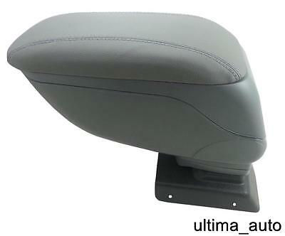 Grey Leather Padded Armrest Center Console For Vauxhall Opel Astra H 2005+