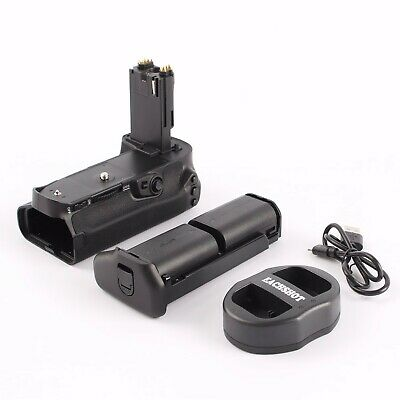 MeiKe cVertical Battery Grip For Canon 70D 80D + 2x LP-E6 + Dual Charger