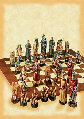 SAC A165S Hand Painted Crusades Chess set - NEW - board not included