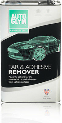 Genuine Autoglym Tar & Adhesive Remover Intensive Solvent Removal 5 Litre