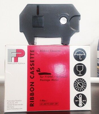 2  Francotyp-Postalia Red Ribbon Cassette-T1000/Optimail