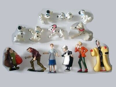 Disney 101 Dalmatians Figurines Set 3 Nestle - Figures Collectibles Miniatures