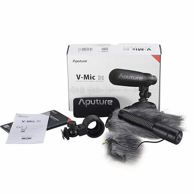 Aputure V-Mic D1 Directional Condenser Shotgun Microphone for Canon Nikon Sony