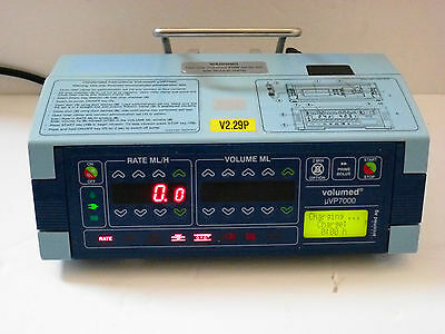 Arcomed Volumed VP7000  VOLUMETRIC INFUSION PUMP Fluid INFUSION Driver