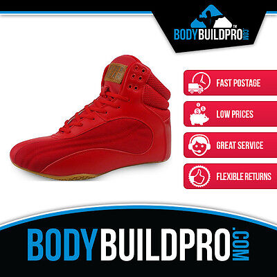 Ryderwear Raptors D-Maks Red * Bodybuilding Shoes * Gym Training * Hightop