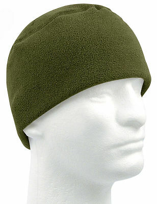84cd7465 FLEECE WATCH CAP OD Military Warm Winter Polar Army Beanie 8460 ...