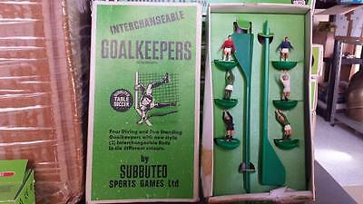 Subbuteo Set Portieri Intercambiabili Goalkeepers Interchangeable