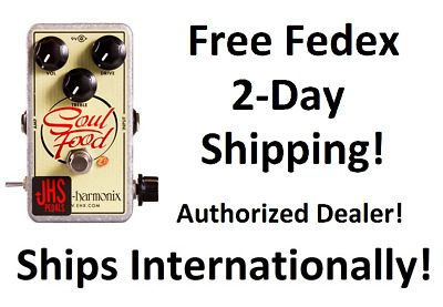 New JHS Meat & 3 Modded Electro Harmonix Soul Food Overdrive Pedal!