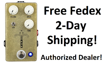 New JHS Morning Glory V4 Overdrive Guitar Effects Pedal!
