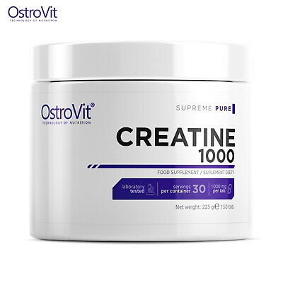 Creatine 150 Tablets Muscle Growth Micronized Creapure Universal Monohydrate