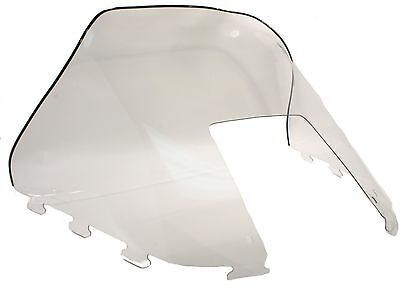 """Polaris Indy Trail 488, 1990-1994, 15"""" Clear Windshield - Deluxe, Touring"""
