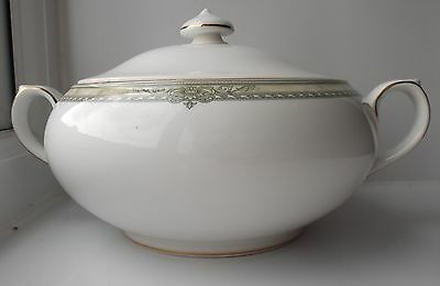 Rare Royal Doulton Isabella Lidded Vegetable Dish - New, Made in England