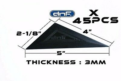 (45 PACK) Triangular Squeegee Car Window Tint Tool Installation - SHIPS TODAY!