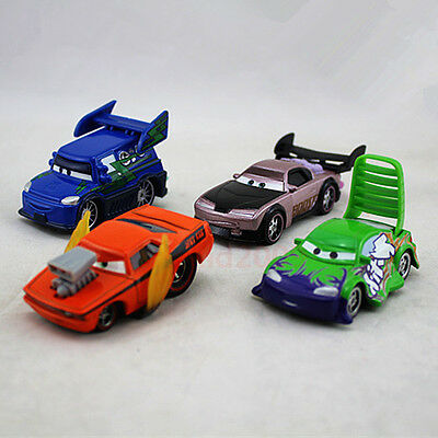 Disney Pixar Cars Boost, Snot Rod, DJ & Wingo Tuner Gang Team 4-Pack Toy