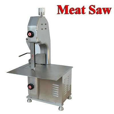 110V Electric Table Top Meat Band Saw Commercial Kitchen Restaurant Chopper
