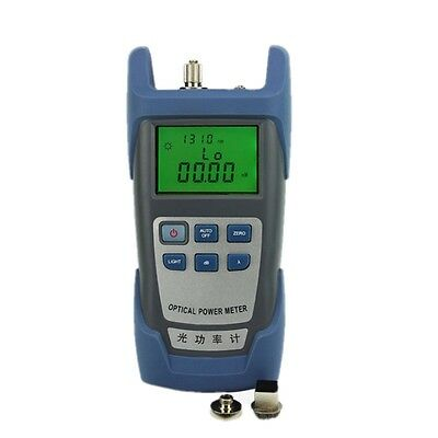 Handle Fiber Optic Optical Power Meter -70~+10dBm SC/FC Alkaline Battery