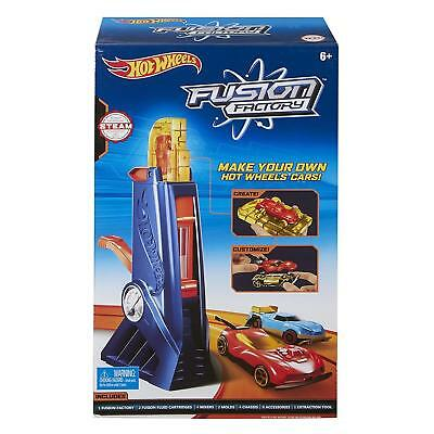 Hot Wheels Fusion Factory Car Maker Toy Racing Car Boys Make your own car NEW