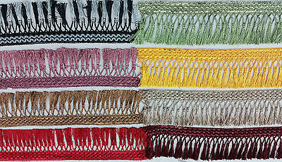 fringing tassel trimming, avalible in 11 colours