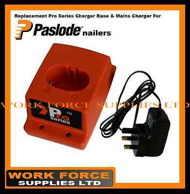 Pro Series Mains Charger + Pro Series Base - for Paslode nailers