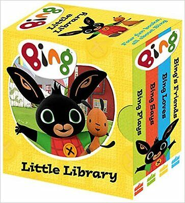 Bings Little Library Bing Bunny Board book 4 Bright Board Books NEW