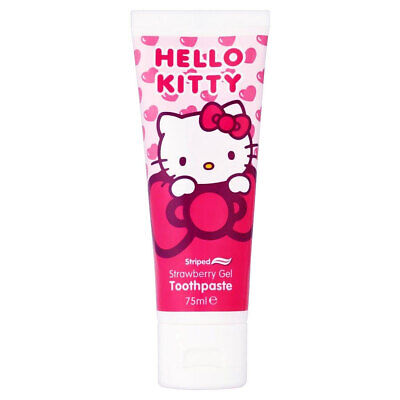 Hello Kitty Toothpaste Toothbrush Mouthwash Set For Kids Children Oral Gift