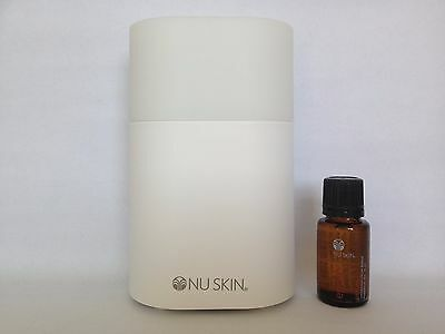 Nu Skin Essence Oil Diffuser with Move Essential Oil and Topical Blending Oil