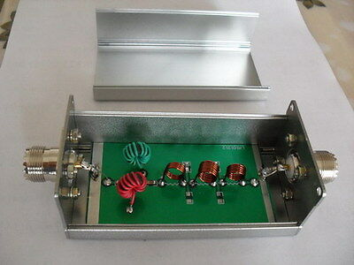 7-30MHz band-pass filter BPF for Reduce shortwave interference Radio Ham
