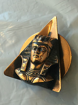 Vintage Egypt Egyptian Beautifully Hand Made Copper Pin Broach