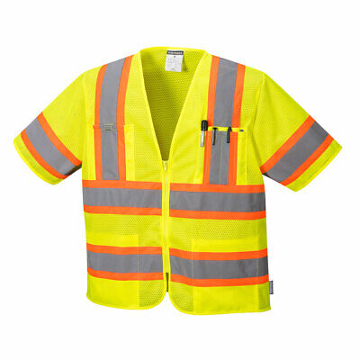 Portwest US383 Augusta Sleeved Hi-Vis Vest to ANSI/ISEA Type R Class 3 Standard