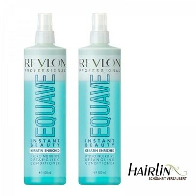 2 x Revlon Equave 2 Phasen Hydro Nutritive Keratin Conditioner 500 ml SPARPREIS