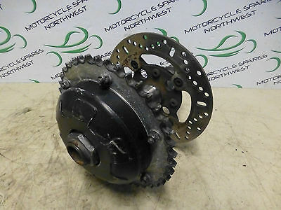 Triumph Speed Triple 1050 2010 Rear Back Wheel Hub Sprocket Carrier And Disc