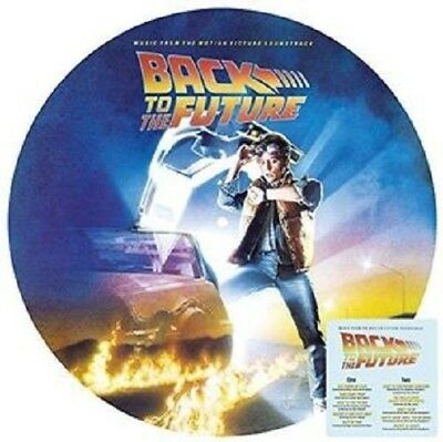 Back To The Future (soundtrack) limited edition vinyl LP picture disc NEW/SEALED