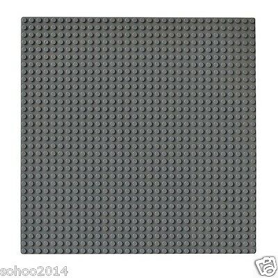 X2 Compatible for Lego dark gray BasePlate display Brick building base 32x32 Dot