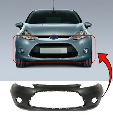 2013 Ford Fiesta Zetec S Front Bumper Fog Grille With Fog Hole Driver Side New
