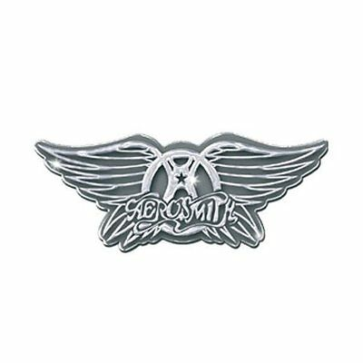 Aerosmith Wings Logo Metal Pin Badge Brooch Album Cover Band Official Product