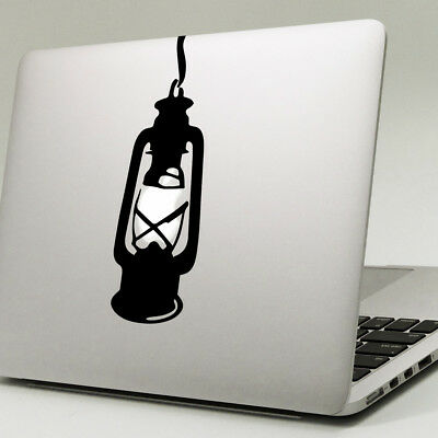 "LANTERN Apple MacBook Decal Sticker fits 11"" 13"" 15"" and 17"" models"