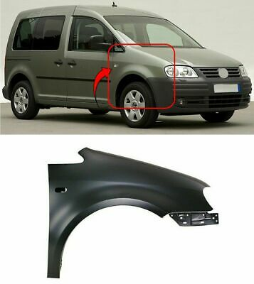 Vw Caddy 2003-2010 Front Wing Driver Side Offside Brand Insurance Approved