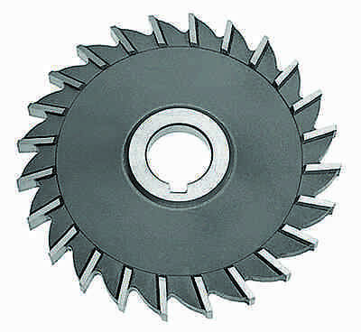"""5 x 3/8 x 1"""" HSS Side Milling Cutter - Straight Tooth"""
