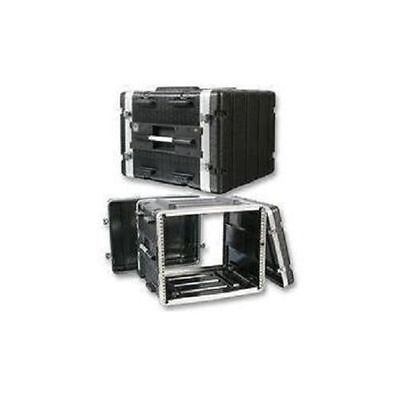 "Stackable ABS 19"" Rack Flight Case - 8RU"