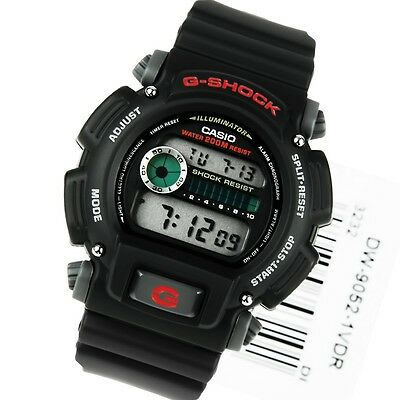Casio G-Shock DW-9052-1V Digital Mens Watch Resist Illuminator Stopwatch DW-9052